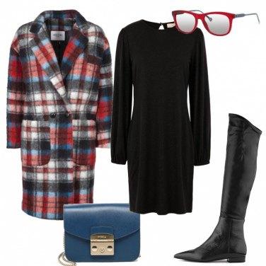 Outfit Il cappotto a scacchi