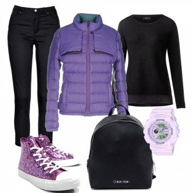 Outfit Spezza con il colore