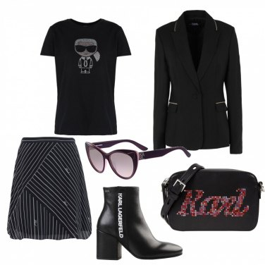 Outfit Karl Lagerfeld