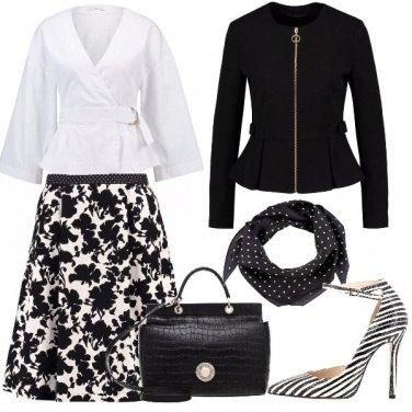 Outfit Bianco e nero in tanti modi