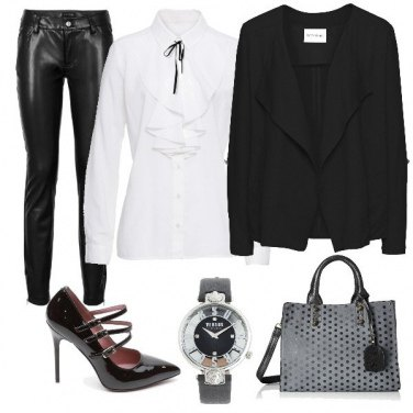 Outfit Look monocromatico