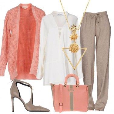 Outfit Illumino la blusa avorio