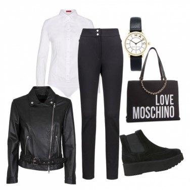 0757685531 Outfit bianco e nero | Bantoa