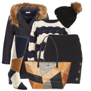 Outfit La maxi bag colour block 395d039efcc