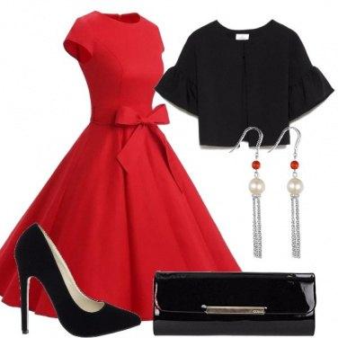 Outfit Una serata in rosso