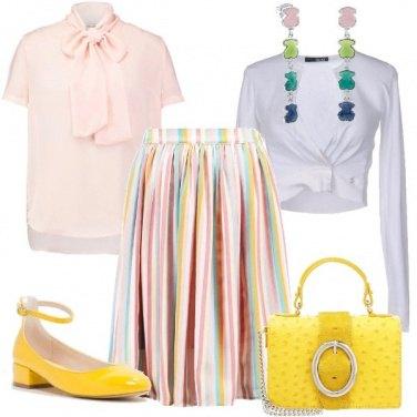 Outfit Colorata in ufficio