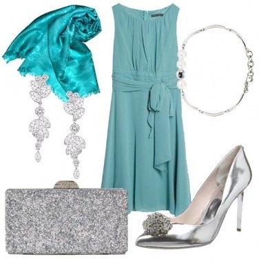 Outfit Cerimonia da tiffany