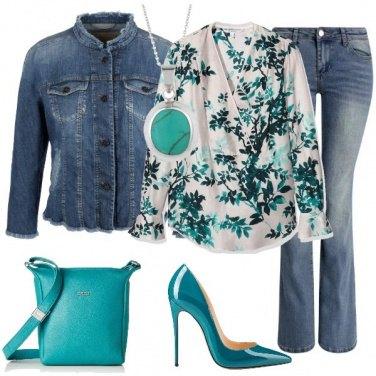 Outfit Jeans e tacco dodici