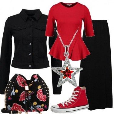 Outfit Una stella rossa