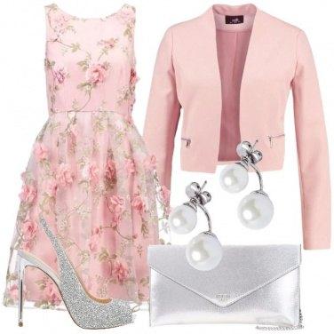 Outfit Bon ton a tacchi alti