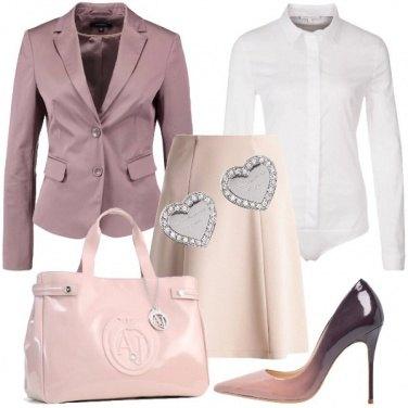 Outfit Tacchi alti in ufficio
