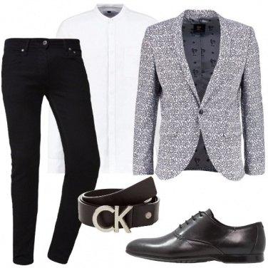 Outfit La giacca con le rose