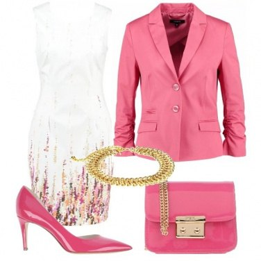 Outfit Il potere del rosa