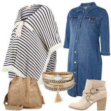 Outfit Una mamma con le frange