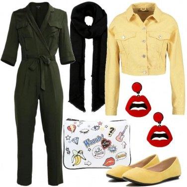 Outfit Tuta e giubbino