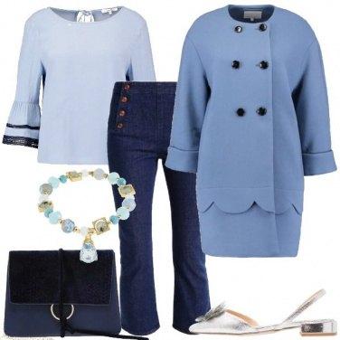 Outfit Azzurro il pomeriggio
