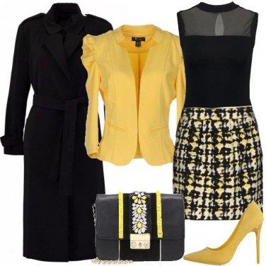 Outfit Dettagli in giallo