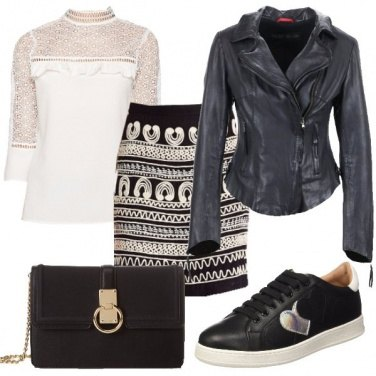 Outfit Cuori e decori
