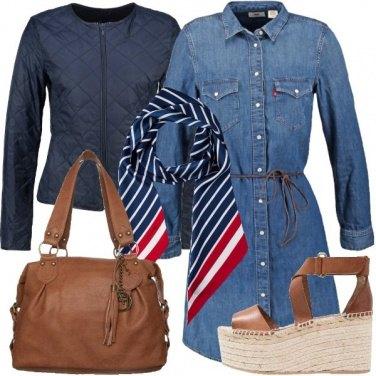 Outfit Alta con la zeppa