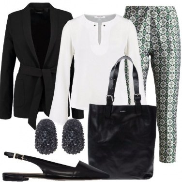 Outfit Fascino in ufficio