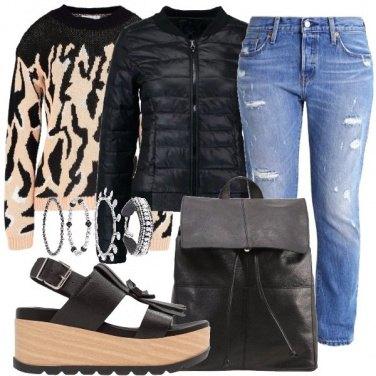 Outfit La maglia grintosa