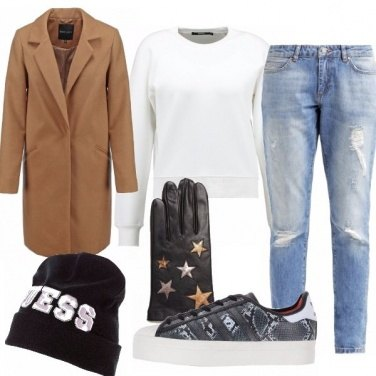 Outfit Easy street style look