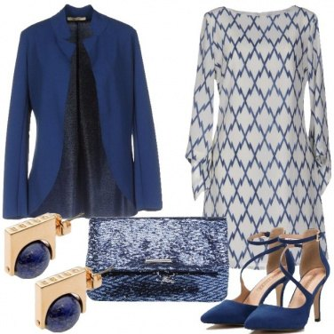 Outfit Speciale in blu