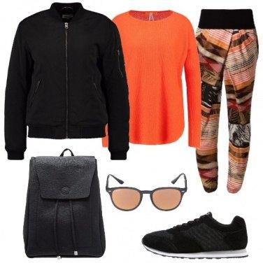 Outfit Pantaloni a fantasia
