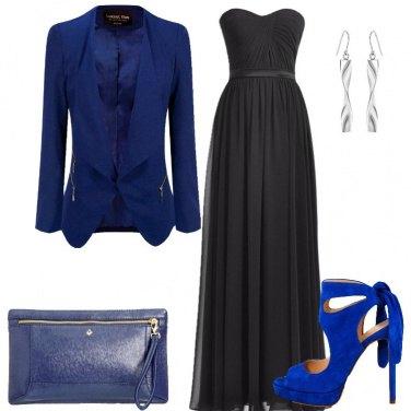 Outfit Una diva in blu