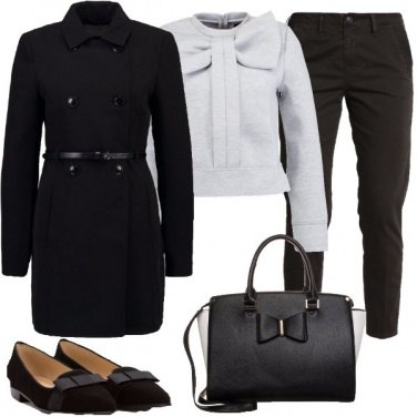 Outfit Un look coi fiocchi
