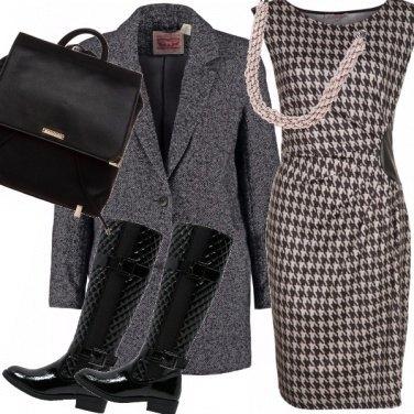 Outfit Pied de poul