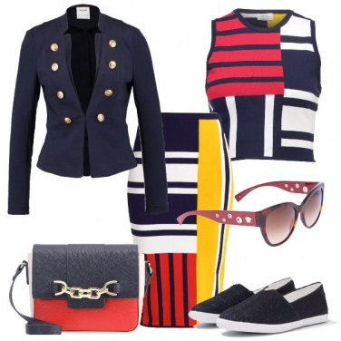 Outfit Come un quadro