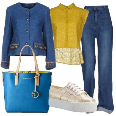 Outfit Sportiva in giacca