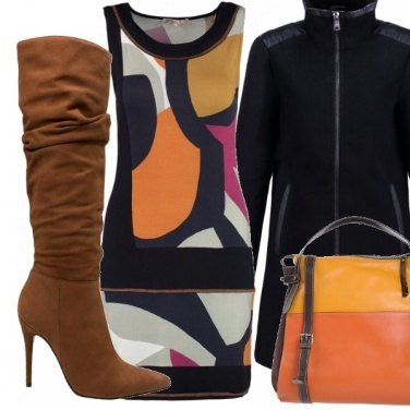 Outfit Glam in tacco a spillo.