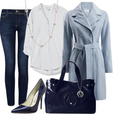 Outfit Casual in perle