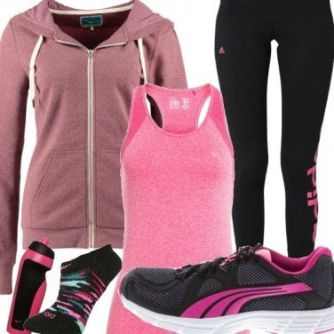 Outfit Fitness che fatica!
