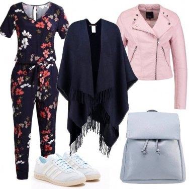 Outfit La mantella in primavera