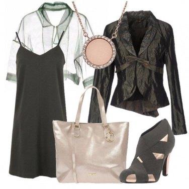 Outfit Leggero e trasparente