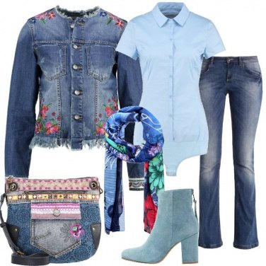 Outfit A tutto fiori