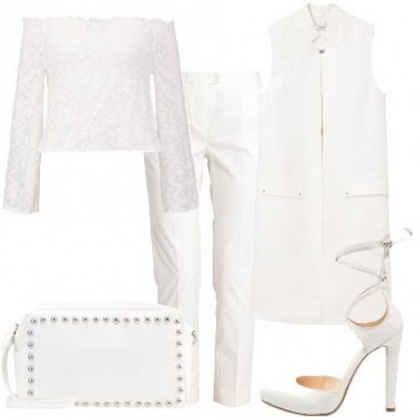 Outfit Finemente bianco