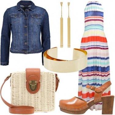 Outfit Zoccoli anni settanta
