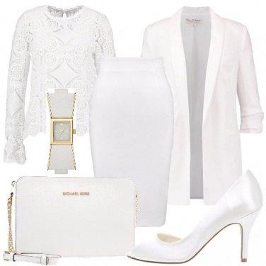 Outfit Deliziosa in bianco