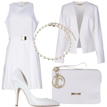 Outfit Raffinata in bianco