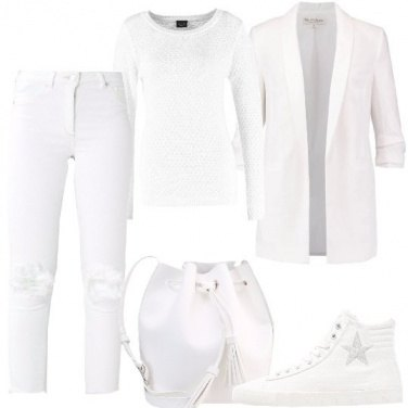 Outfit Comoda in bianco
