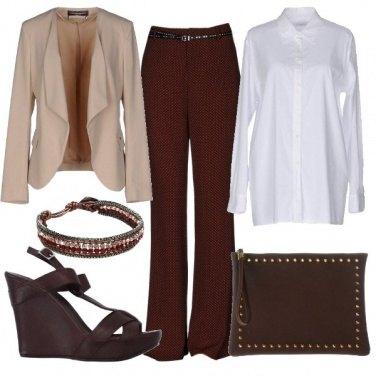 Outfit Giacca e pantalone