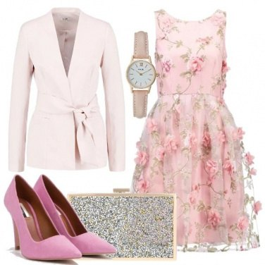 Outfit Confetto rosa