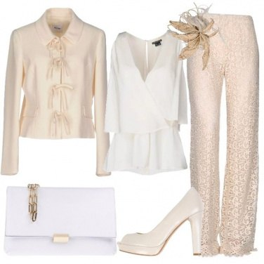 Outfit L\'eleganza del candore