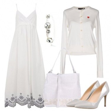 Outfit Ricami sul bianco