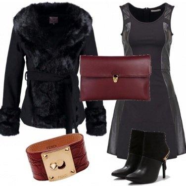Outfit Pelle e pelliccia ? ci piace!!!