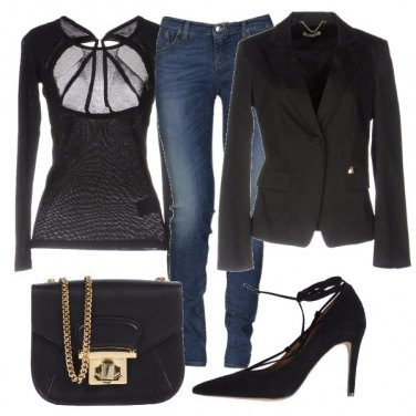 Outfit Trasparenze con gusto